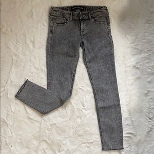 Low rise stretch jeans